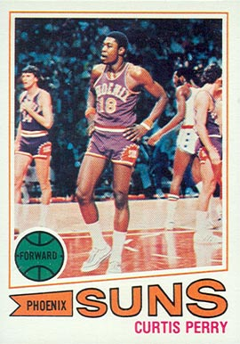 1977 Topps Curtis Perry #72 Basketball Card