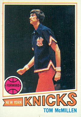 1977 Topps Tom McMillen #66 Basketball Card
