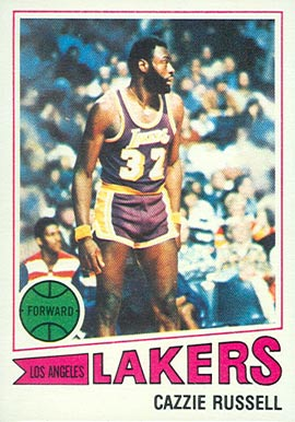 1977 Topps Cazzie Russell #59 Basketball Card