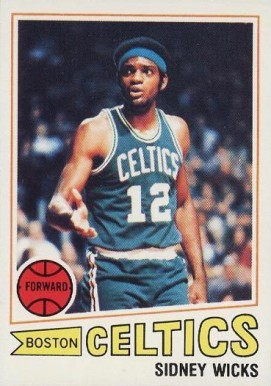 1977 Topps Sidney Wicks #52 Basketball Card