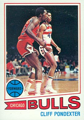 1977 Topps Cliff Poindexter #21 Basketball Card