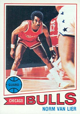 1977 Topps Norm Van Lier #4 Basketball Card