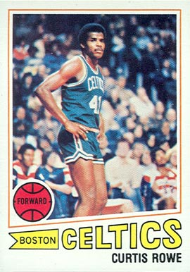 1977 Topps Curtis Rowe #3 Basketball Card