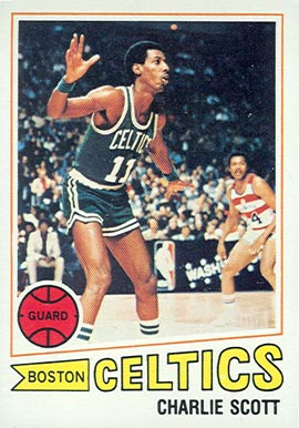 1977 Topps Charlie Scott #125 Basketball Card