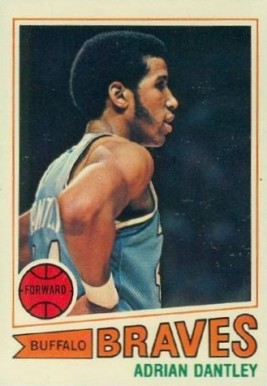 1977 Topps Adrian Dantley #56 Basketball Card