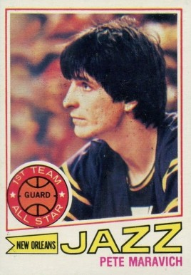 1977 Topps Pete Maravich #20 Basketball Card