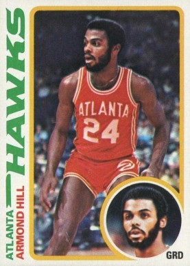 1978 Topps Armond Hill #70 Basketball Card