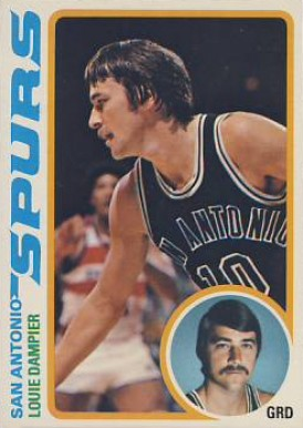 1978 Topps Louie Dampier #51 Basketball Card