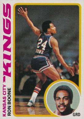 1978 Topps Ron Boone #49 Basketball Card