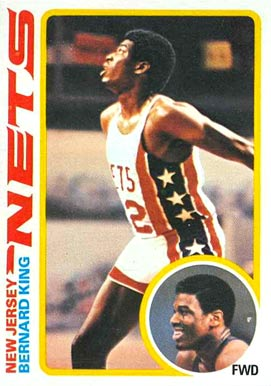 1978 Topps Bernard King #75 Basketball Card