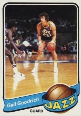 c87b808eb22 1979 Topps Gail Goodrich  32 Basketball Card Value Price Guide