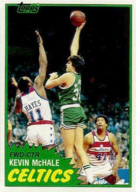 1981 Topps Kevin McHale #E75 Basketball Card