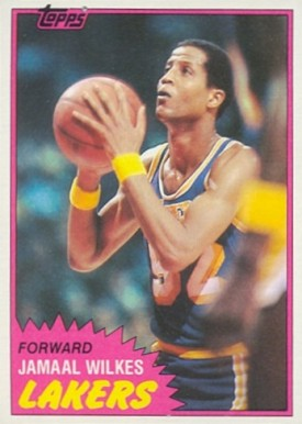 1981 Topps Jamaal Wilkes #23 Basketball Card