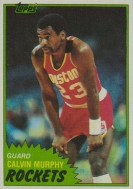 1981 Topps Calvin Murphy #15 Basketball Card