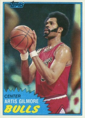 1981 Topps Artis Gilmore #7 Basketball Card