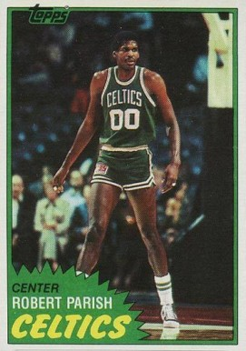 1981 Topps Robert Parish #6 Basketball Card