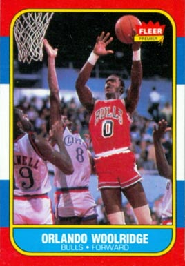 1986 Fleer Orlando Woolridge #130 Basketball Card