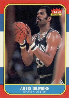 1986 Fleer Artis Gilmore #37 Basketball Card