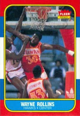 1986 Fleer Tree Rollins #94 Basketball Card