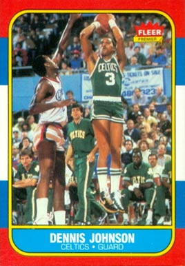 1986 Fleer Dennis Johnson #50 Basketball Card