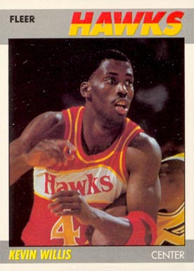 1987 Fleer Kevin Willis #124 Basketball Card