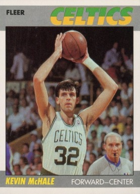 1987 Fleer Kevin McHale #74 Basketball Card