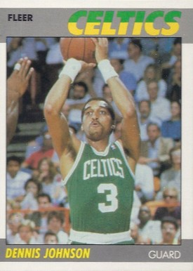 1987 Fleer Dennis Johnson #54 Basketball Card