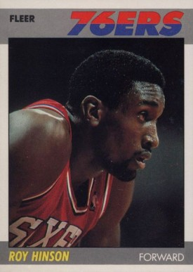 1987 Fleer Roy Hinson #51 Basketball Card