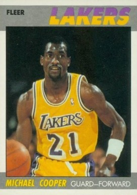 1987 Fleer Michael Cooper #21 Basketball Card