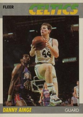 1987 Fleer Danny Ainge #4 Basketball Card