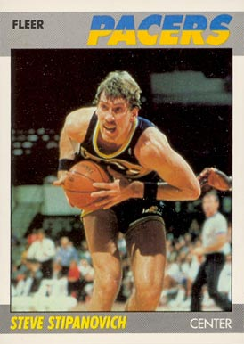 1987 Fleer Steve Stipanovich #103 Basketball Card