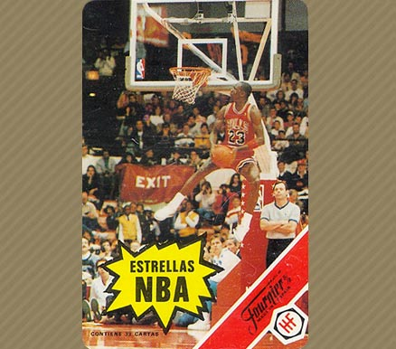 Michael Jordan 1988 Fournier #Jordan Rules Basketball Card Prices ...