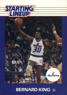 1988 Kenner Starting Lineup Bernard King #41 Basketball Card