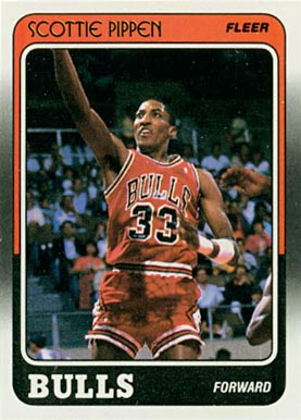 1988 Fleer Scottie Pippen #20 Basketball Card