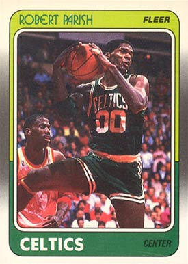1988 Fleer Robert Parish #12 Basketball Card