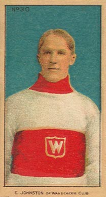1910-11 Imperial Ernest Johnson #30 Hockey Card