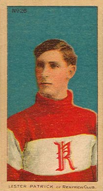 1910-11 Imperial Lester Patrick of Renfrew Club #26 Hockey Card