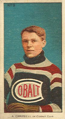 1910-11 Imperial Angus Campbell #9 Hockey Card