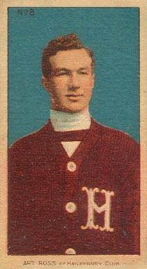 1910-11 Imperial Art Ross #8 Hockey Card