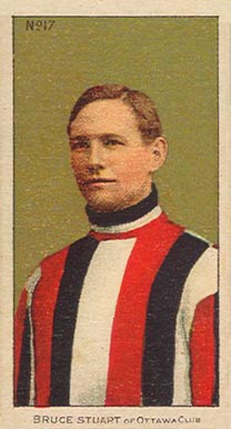 1910-11 Imperial Bruce Stuart #17 Hockey Card