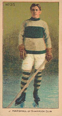 1910-11 Imperial Jack Marshall #35 Hockey Card