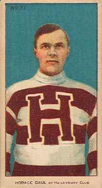 1910-11 Imperial Horace Gaul #31 Hockey Card