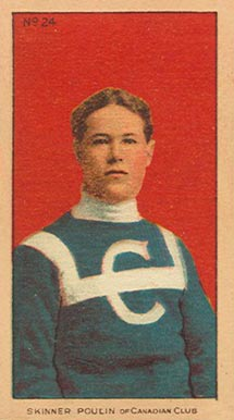 1910-11 Imperial Skinner Poulin #24 Hockey Card