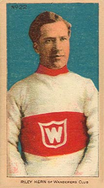 1910-11 Imperial Riley Hern #22 Hockey Card