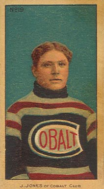1910-11 Imperial Jim Jones #19 Hockey Card
