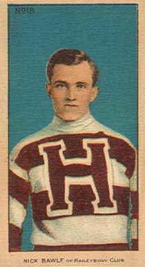 1910-11 Imperial Nick Bawif #18 Hockey Card