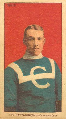 1910-11 Imperial Joseph Cattarinich #16 Hockey Card