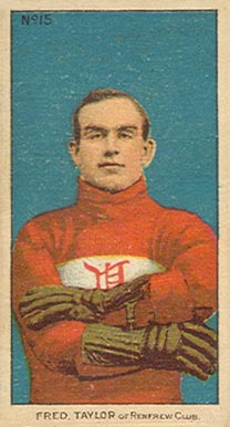 1910-11 Imperial Cyclone Taylor #15 Hockey Card