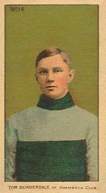 1910-11 Imperial Tom Dunderdale #14 Hockey Card