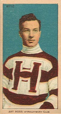 1910-11 Imperial Art Ross #12 Hockey Card